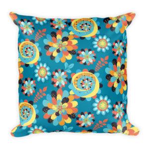 Bohemian Flowers Basic Pillow