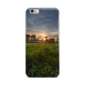Sunset In The Field IPhone Case