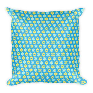 Bohemian Flower Power Basic Pillow
