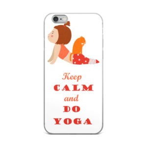 Keep Calm And Do Yoga Cat Lady IPhone Case