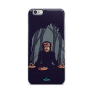 Yoga Monkey Meditating IPhone Case